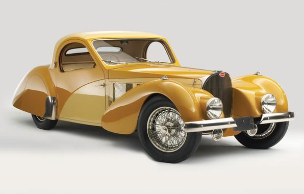 Picture retro, Bugatti, 1937, Atalante, Bugatti Type 57s