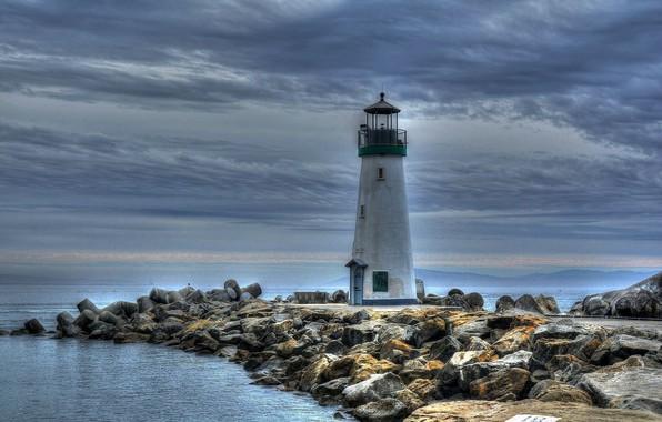 Picture stones, lighthouse, poberegie