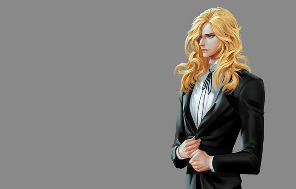Picture anime, art, guy, Solar interference signal, NOBLESSE FRANKENSTEIN