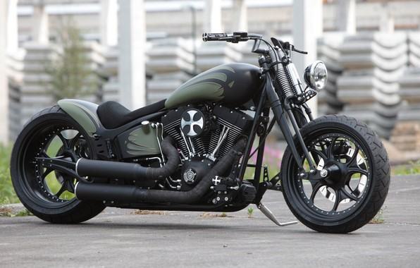 Picture Bike, Custom, Motorcycle, Thunderbike customs