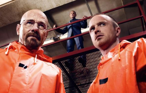 Picture the series, Breaking bad, Breaking Bad, Bryan Cranston, Jesse Pinkman, Aaron Paul, Walter White, Giancarlo …