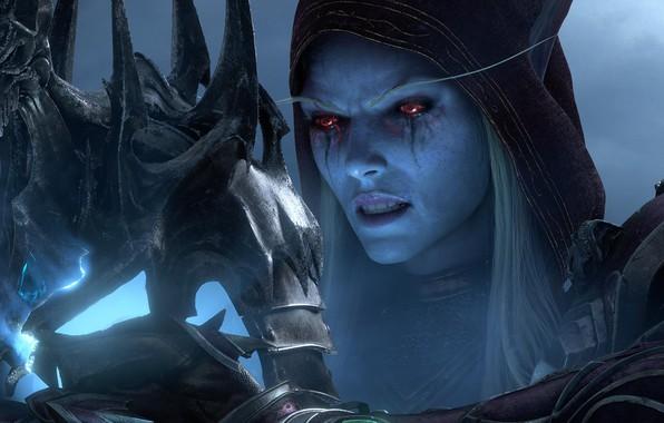 Picture Blizzard Entertainment, Sylvanas Windrunner, World Of Warcraft, Sylvanas Windrunner, The Dark Lady, Crown Nerzul, Lady …