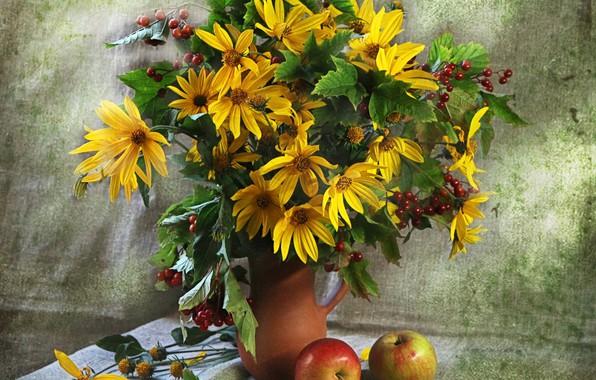 Picture bouquet, Rudbeckia, naturpur