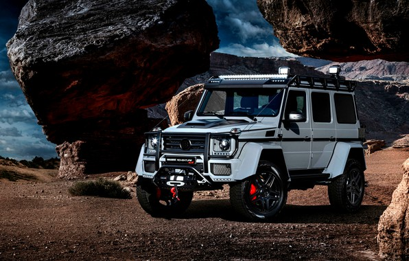 Picture Mercedes, Brabus, 4x4, G Class, whells, Restyling