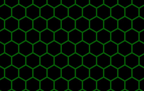 Picture mesh, texture, cell, hexagons