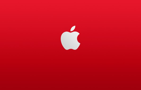 Picture white, red, apple, Apple, red, white, fon
