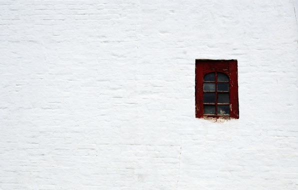 Picture background, Wallpaper, minimalism, window, white wall, at least