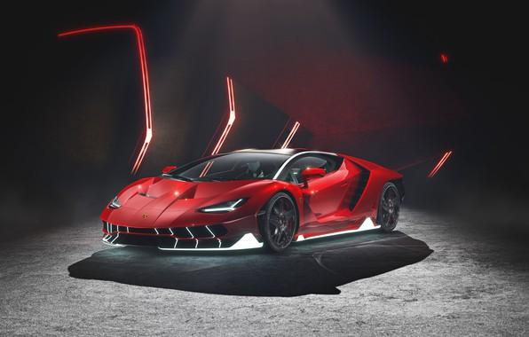 Picture rendering, Lamborghini, supercar, Centennial