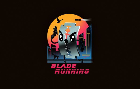 Picture Minimalism, Art, Neon, Blade runner, 80's, Synth, Retrowave, Synthwave, New Retro Wave, Futuresynth, Sintav, Retrouve, …