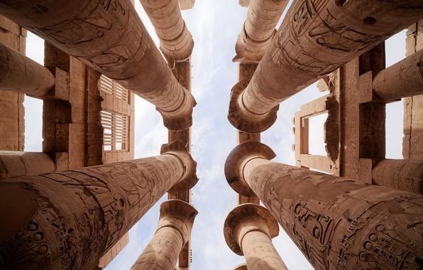 Picture ruins, architecture, egypt