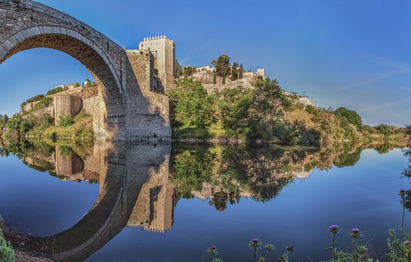 Picture Spain, Toledo, Toledo, Bridge of Alcantara