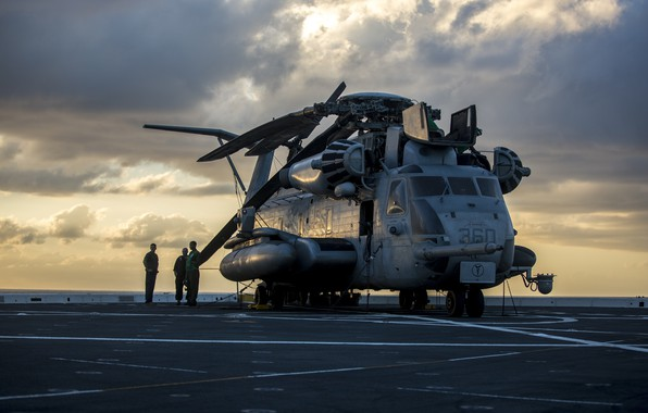 Picture Helicopter, US Marine Corps, CH-53E Super Stallion