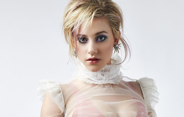 Picture look, girl, makeup, blouse, Rogue, Lili Reinhart