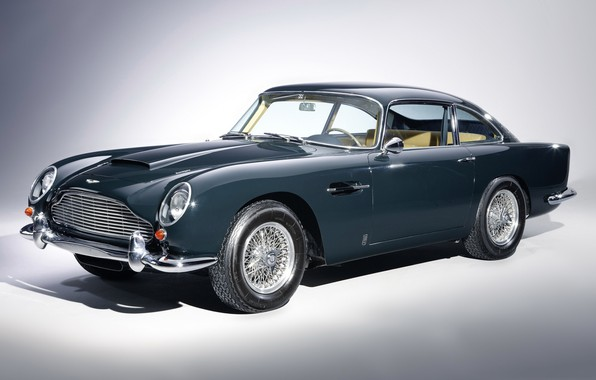 Picture retro, coupe, aston martin, db5
