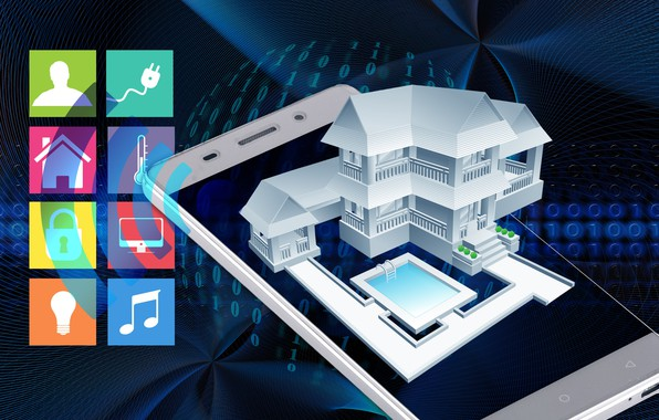 Picture management, technology, smart home