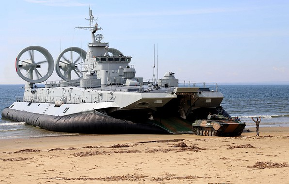 Picture ship, pillow, BMP, landing, landing, air