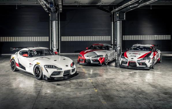 Picture Hangar, Garage, Toyota, Supra, 2020, Toyota GR Supra GT4, Supra GT4