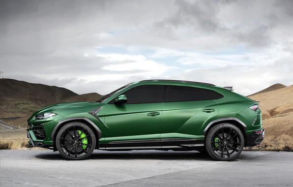 Picture Lamborghini, side view, 2018, Ball Wed, Urus