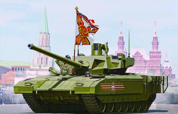 Picture Russia, Tank, The armed forces of Russia, Main battle tank Russia, Object 148, Armata, T-14