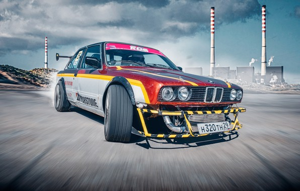 Picture BMW, BMW, Drift, RDS, E30, 3 Series, Drifting