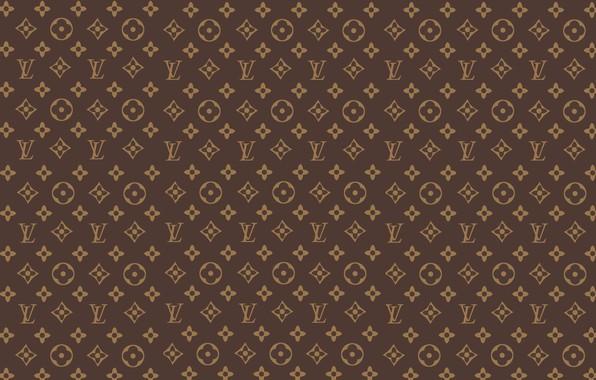 Wallpaper Wall Patterns Brown Patterns Fon Louis Vuitton Louis Vuitton Lv Images For Desktop Section Tekstury Download