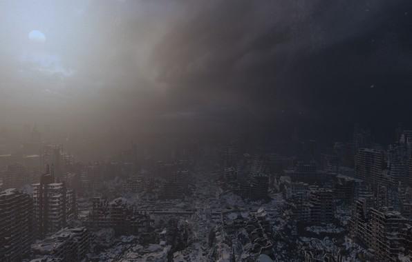 Picture the city, metro, Apocalypse, metro, apocalypse, metro Exodus, metro exodus