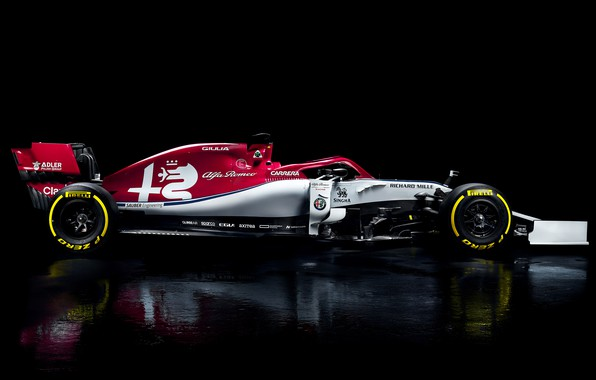 Picture Alfa Romeo, sport, Formula 1, simple background, C38, Alfa Romeo C38