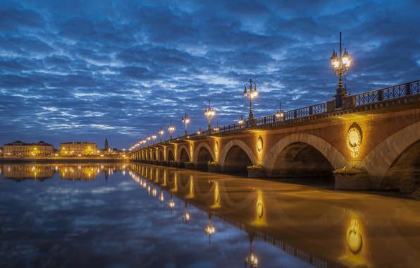 Picture river, France, Bordeaux