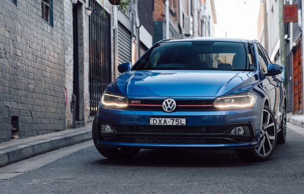 Wallpaper Volkswagen Gti 2018 Polo Images For Desktop Section