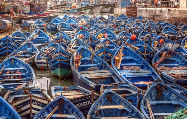 Picture Africa, Morocco, Essaouira seaport