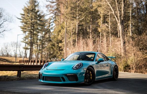Picture Porsche, Blue, Autumn, 991, VAG