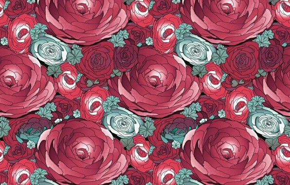 Picture background, texture, peonies