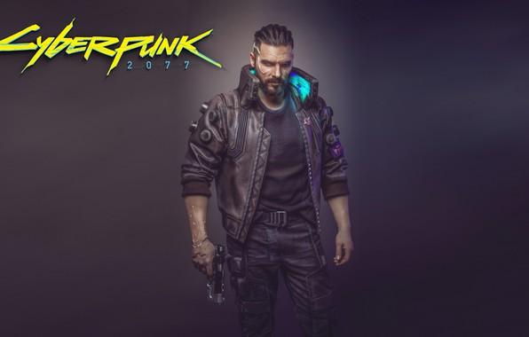 Picture The game, Art, Male, Cyborg, CD Projekt RED, Cyberpunk 2077, Cyberpunk, Cyberpunk, Cyberpunk 2077, Cyborgs, …