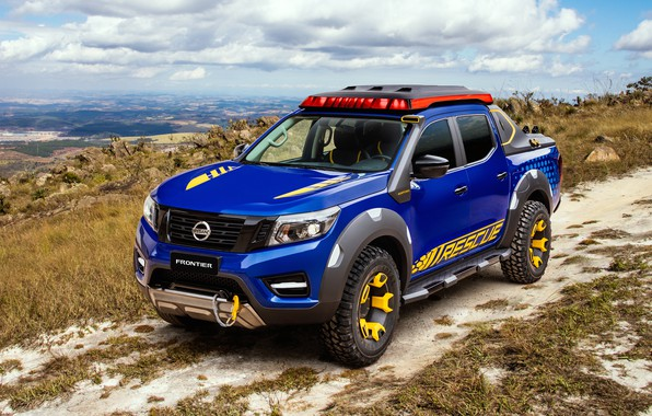 Picture Concept, Nissan, pickup, 2018, Sentinel, Frontier