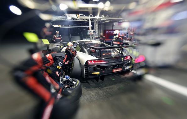 Picture Audi, Audi, Motorsport, racing car, racing car, motorsports, 2019, Audi R8 LMS, Audi Sport Team …
