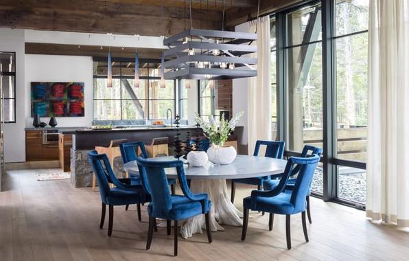 Picture interior, kitchen, dining room, Denver