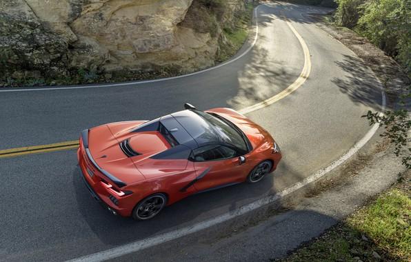 Picture Corvette, Chevrolet, Stingray, 2020, C8