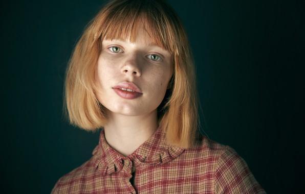 Picture girl, redhead, Alexander Vinogradov, Sonya Tarasova