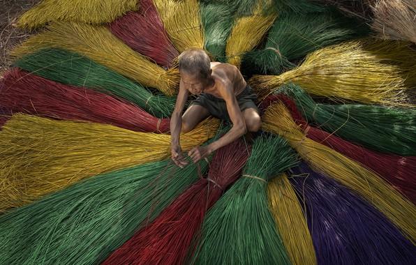 Picture work, people, Vietnam
