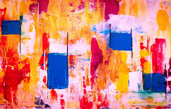 Picture line, paint, strokes, canvas, strokes