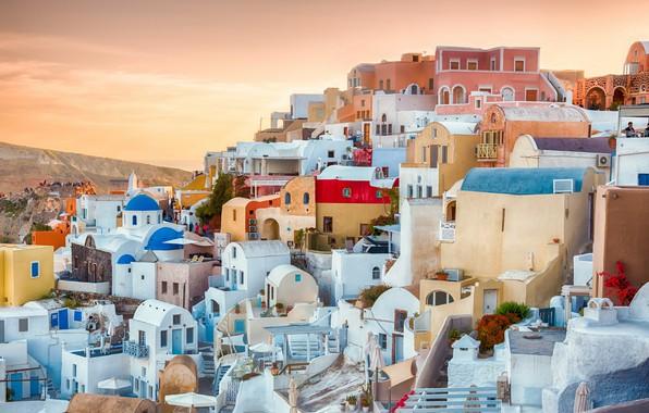 Picture Oia, Greece, Aegean