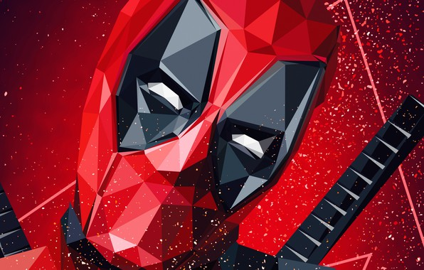 Picture Superheroes, Deadpool, Marvel, Artwork