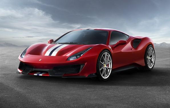 Picture auto, Ferrari, supercar, Ferrari 488 Track