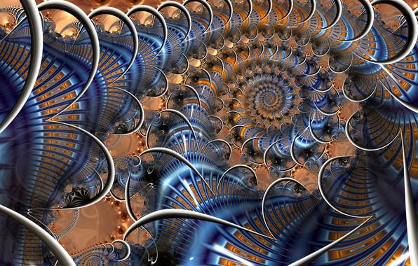Picture Pattern, fractal, Beauty, Curl