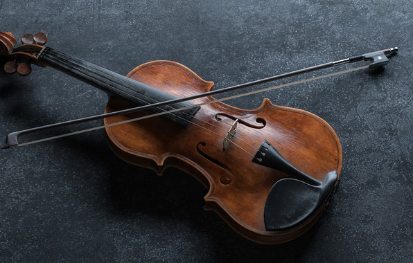 Picture Music, Violin, Bow