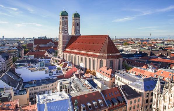 Picture Germany, Munich, Bayern, Frauenkirche