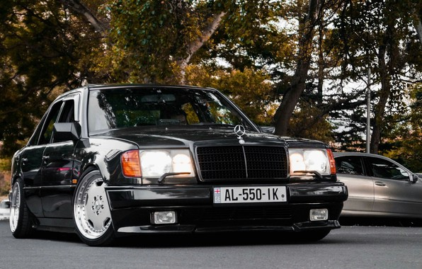 Picture hummer, amg, mercedes-bens, w124, 400e