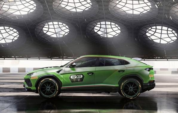 Picture Concept, Lamborghini, side view, Urus, 2019, ST-X