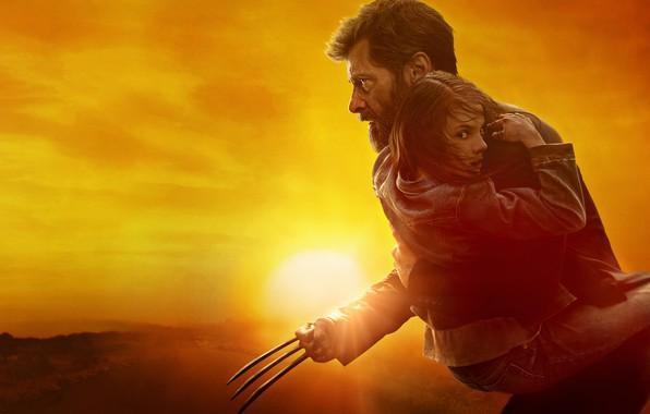 Picture Hugh Jackman, hugh jackman, comic, movie, comics, Wolverine, logan, Logan, x-23, Kinomax