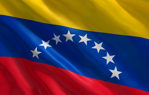 Picture background, flag, star, fon, flag, venezuela, Venezuela